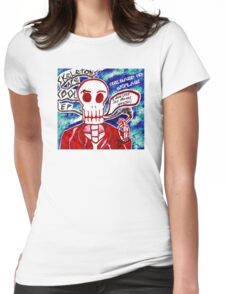 Skeletons Are Cool Womens Fitted T-Shirt