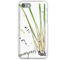 Culinary Herbs - Lemongrass iPhone Case/Skin