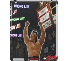Bloodsport (1988) - Chong Li! Chong Li iPad Case/Skin