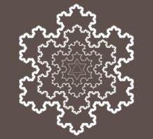 The Koch Snowflake One Piece - Short Sleeve