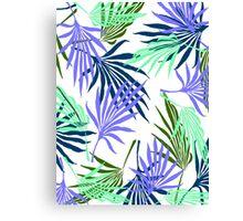Jungle Blue Canvas Print