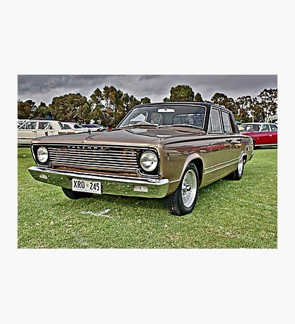 Gold VC Valiant Photographic Print