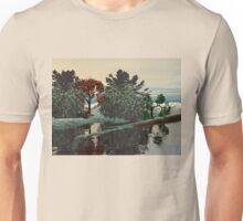 ALIEN LANDSCAPE /LAGOON IN HYPERION Sci_Fi Unisex T-Shirt