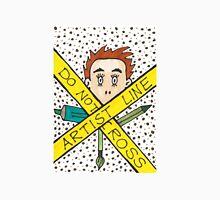 Artist Line Do Not Cross Unisex T-Shirt