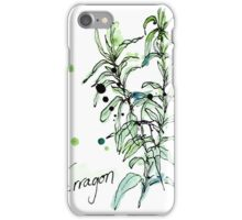 Culinary Herbs - Tarragon iPhone Case/Skin