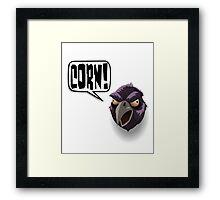 CORN! Framed Print