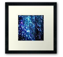 Glowing Lamp Lights Appear Framed Print