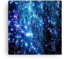 Glowing Lamp Lights Appear Canvas Print
