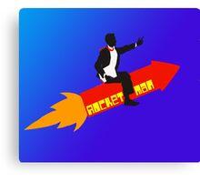 Rocket Man  Canvas Print