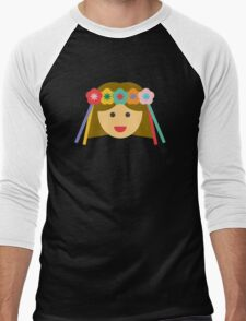 a girl with a flower crown T-Shirt