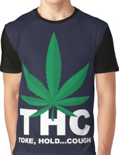 Weed Leaf THC - Weed T Shirts Graphic T-Shirt