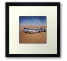 Research Base Framed Print