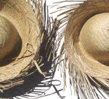 Beach Hats can help you avoid sunburn Sticker