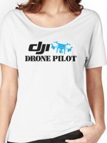 Dji Drone Plot Women's Relaxed Fit T-Shirt