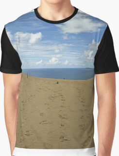 Rainbow Beach Sandblow #1 Graphic T-Shirt