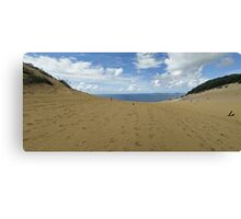 Rainbow Beach Sandblow #1 Canvas Print