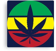Weed Leaf - Weed T Shirts Canvas Print
