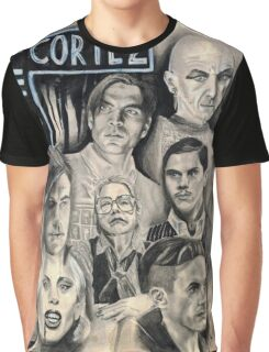 American Horror Story Hotel Caffeine Shock Graphic T-Shirt