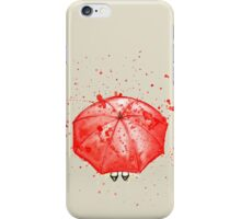 Red Umbrella iPhone Case/Skin
