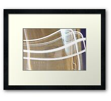 Private Wall Framed Print