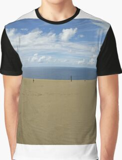 Rainbow Beach Sandblow #2 Graphic T-Shirt