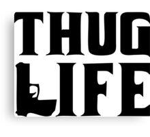 Thug life gun Canvas Print