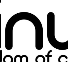 Linux - Freedom Of Choice Sticker