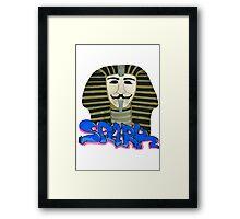 S for SPARK Framed Print