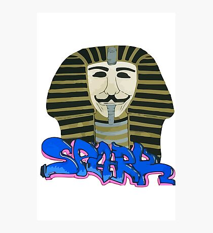 S for SPARK Photographic Print