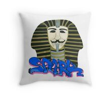 S for SPARK Throw Pillow