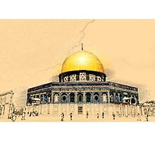 Jerusalem Old City, Dome of the Rock  Photographic Print