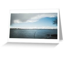 dark clouds before the rain  Greeting Card