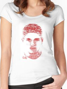 Football Player Women's Fitted Scoop T-Shirt