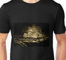 An old style digital painting of the Cutty Sark Unisex T-Shirt