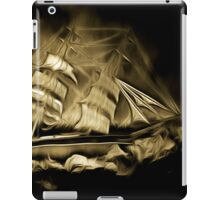 An old style digital painting of the Cutty Sark iPad Case/Skin