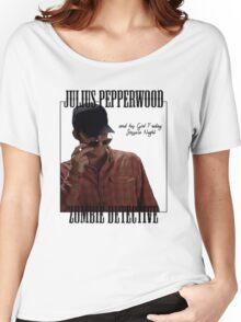 JULIUS PAPPERWOOD ZOMBIE DECTECTIVE Women's Relaxed Fit T-Shirt