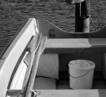 The Boat - BW Sticker