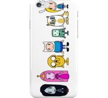Adventure Time Characters iPhone Case/Skin
