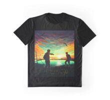 Sunset on Lake Graphic T-Shirt