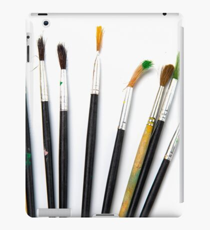 set of brushes for drawing iPad Case/Skin