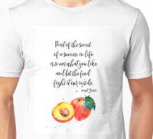 Mark Twain Peach quote Unisex T-Shirt