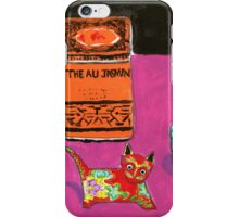 chinese cat iPhone Case/Skin