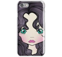 Dollhouse Girl Purple iPhone Case/Skin