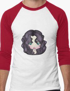Dollhouse Girl Purple Men's Baseball ¾ T-Shirt