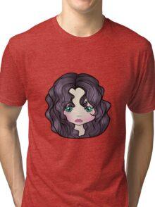 Dollhouse Girl Purple Tri-blend T-Shirt