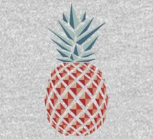 Pineapple One Piece - Short Sleeve
