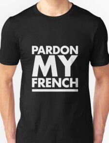 Pardon My French Black T-Shirt