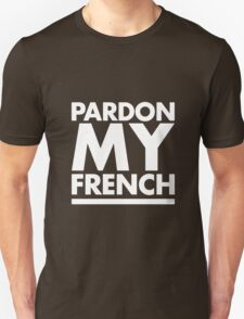 Pardon My French Black T-Shirt