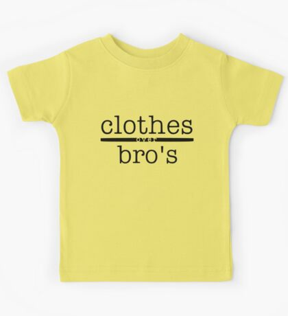 One tree hill- Clothes over bro's Kids Tee