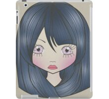 Dollhouse Girl Blue iPad Case/Skin